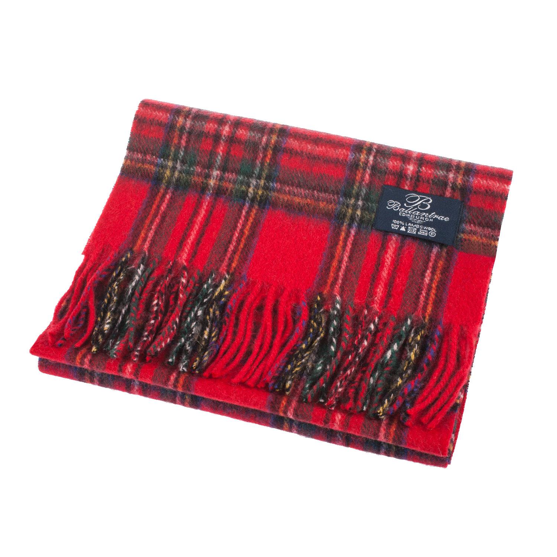Heritage-of-Scotland-100-Lambswool-Scottish-Stewart-Tartans-Super-Soft-Scarf