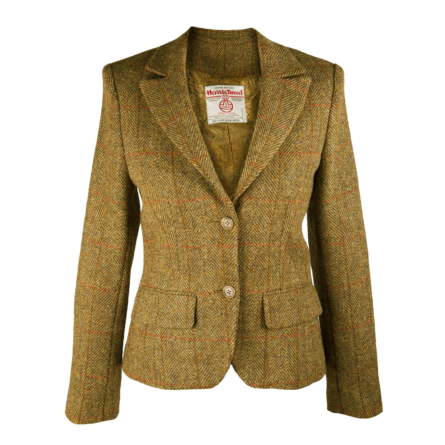 Harris tweed jacket womens